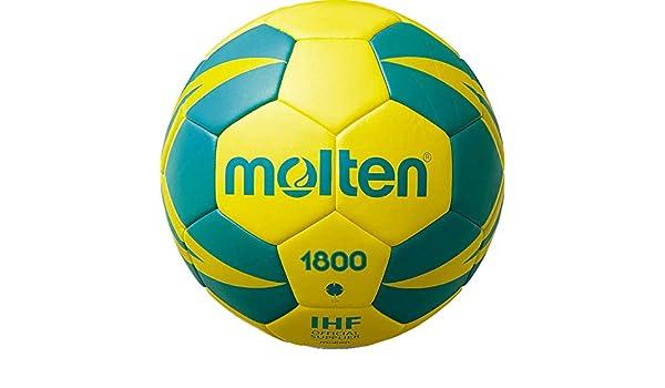 MOLTEN H3X1800-YG - Balón de Balonmano: Amazon.es: Deportes y aire ...
