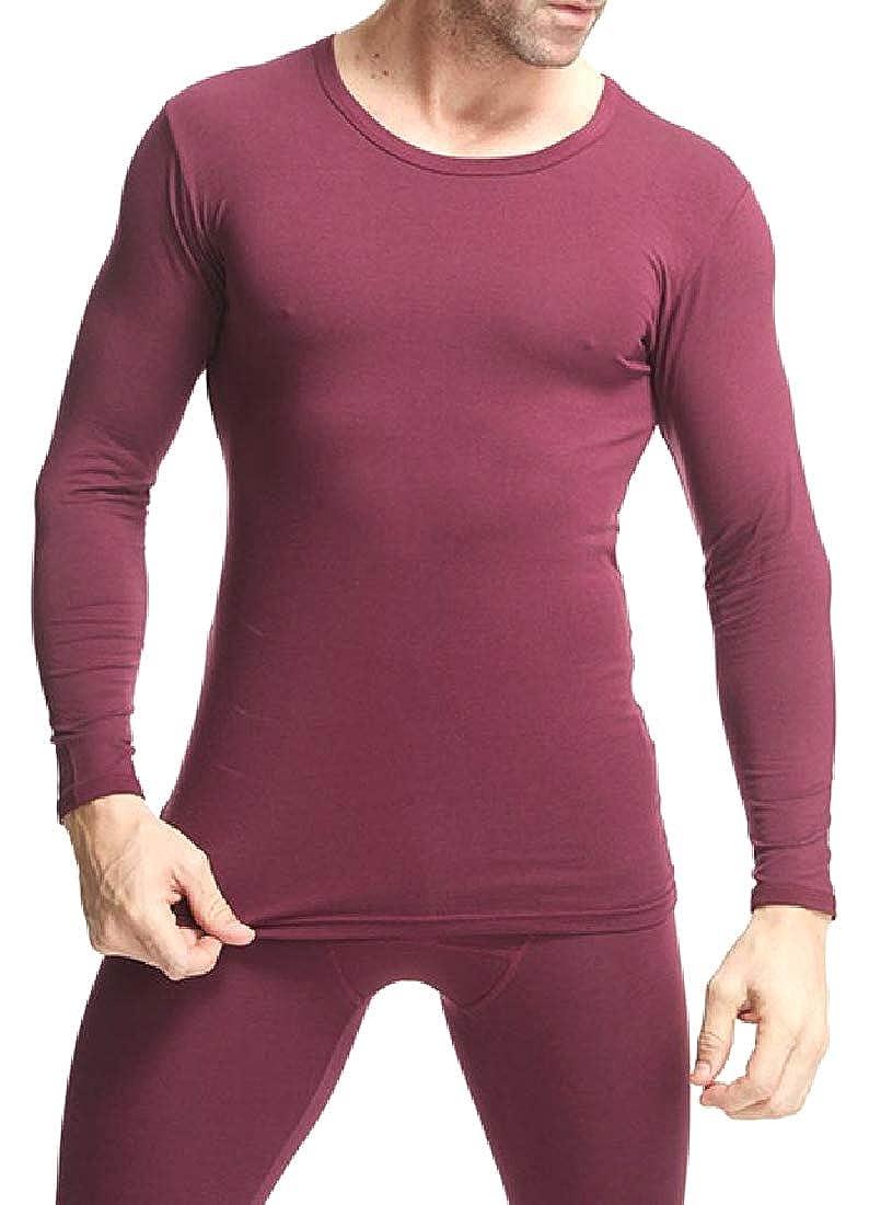 Highisa Men Knit Cotton Light Weight Base Layer Family Pajama Set