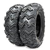 2PCS Front ATV UTV All Trail Tires 25x8-12 25x8x12 6Ply P306