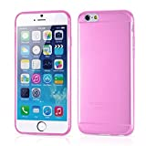 Roodfox ULTRA THIN 0.3mm Clear Rubber Soft TPU Cover Case For iPhone 6 4.7inch