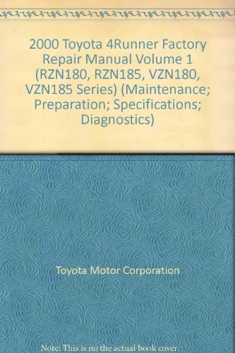 toyota 4runner repair manual - 6