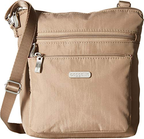 - Baggallini RFID Pocket Crossbody Bag