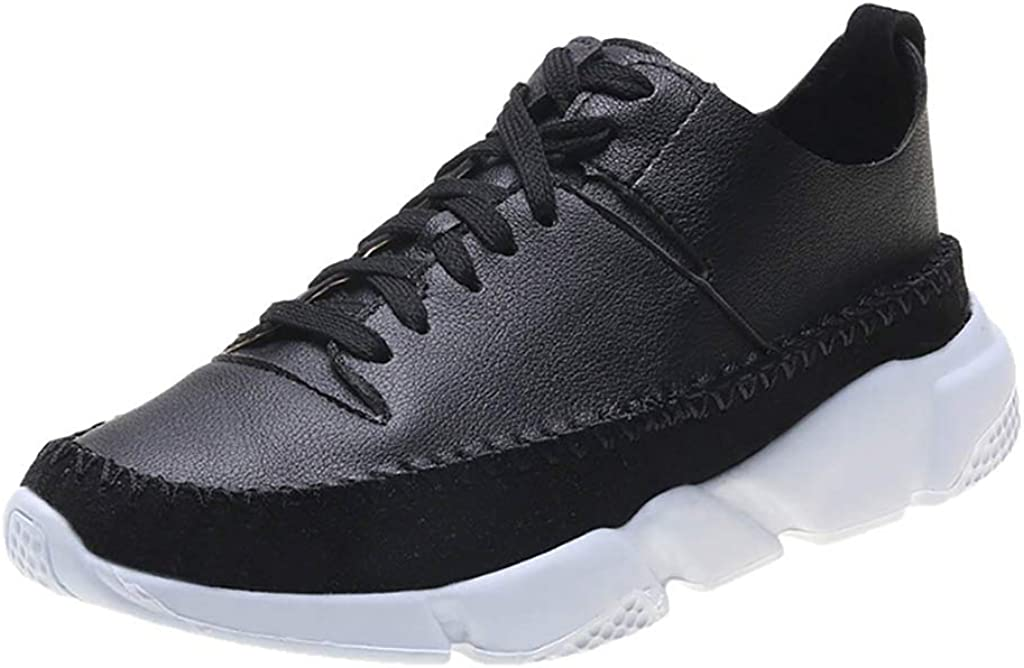 Miuye yuren Fashion Sneaker for Womens Casual Lace up Sports Shoes Slip on Running Shoe Everyday Shoes