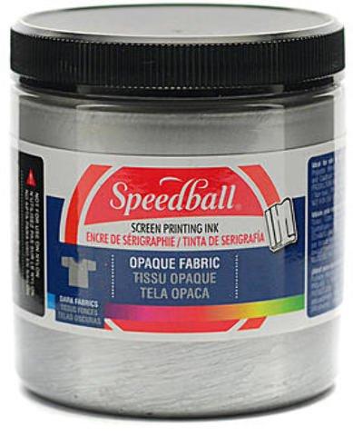 Speedball Opaque Fabric Screen Printing Inks (Silver) 1 pcs sku# 1842157MA