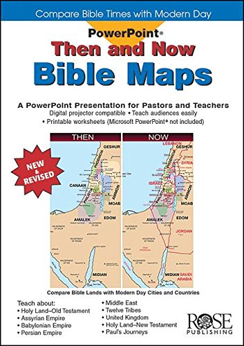 Deluxe Then and Now® Bible Maps PowerPoint: Compare Bible Lands ...