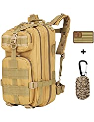 ANTIEE Outdoor 30L Military Tactical Rucksack Backpack for Camping Hiking Trekking Waterproof Travel Bag