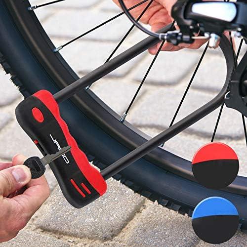 Jago Candado para bicicletas y motocicletas (incluye 2 llaves ...