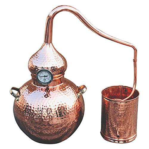 - 5 Gallon Pure Copper Alembic Still for whiskey, moonshine essential oils by Copperholic