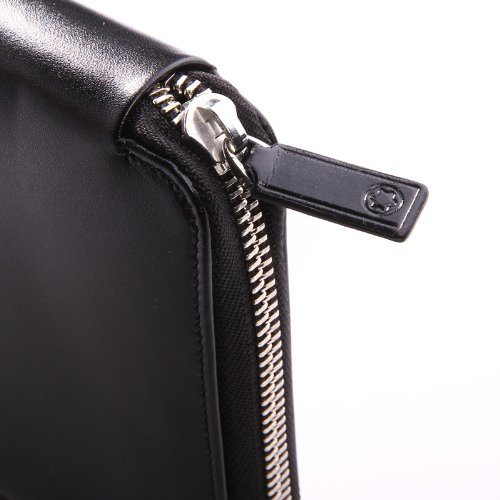 Mont Blanc Black Travel Currency Wallet (16352) by MONTBLANC (Image #2)