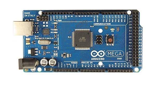 Compatible con Arduino Mega 2560 Atmega2560 2560 R3 Junta + Cable USB: Amazon.es: Electrónica