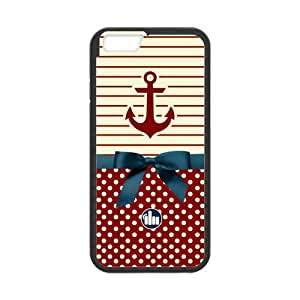 iPhone 6 Protective Case - Cute Anchor Hardshell Cell Phone Cover Case for New iPhone 6
