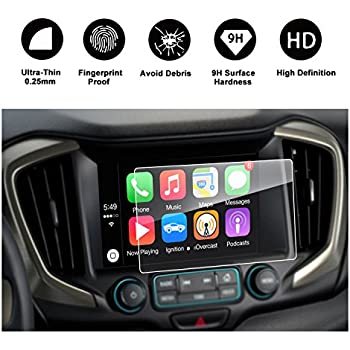 PcProfessional Screen Protector Set of 2 for 2018 2019 GMC Terrain Terrain Denali 8 Touch Screen Display Navigation System High Clarity Anti Scratch Filters UV