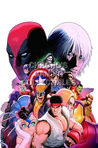 PremiumPrintsG - Ultimate Marvel Vs Capcom 3 PS3 PS4 Xbox 360 ONE Infinite - XEXT863 Premium Decal 11