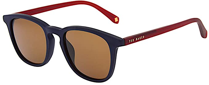 Ted Baker Riggs Gafas de sol, Azul (Blue Charcoal/Brown ...