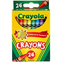 2 X 24-Count Bluetiful Crayola Classic Crayon (Assorted Colors)