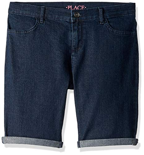 The Children's Place Big Girls' Plus Sized Denim Skimmers, MADISONWSH, 10
