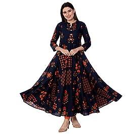 Buy GULMOHAR Women's Cotton Regular Kurta India 2021