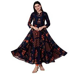 GULMOHAR JAIPUR Women's Cotton Regular Kurta