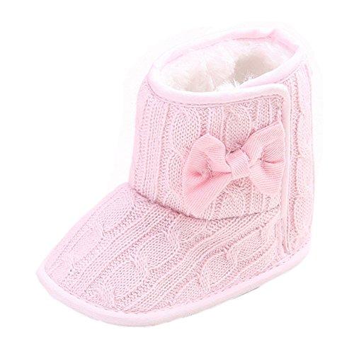 leap frog  Snow Boots,  Baby Mädchen Schneestiefel , Pink - rose - Größe: 6-12 Monate