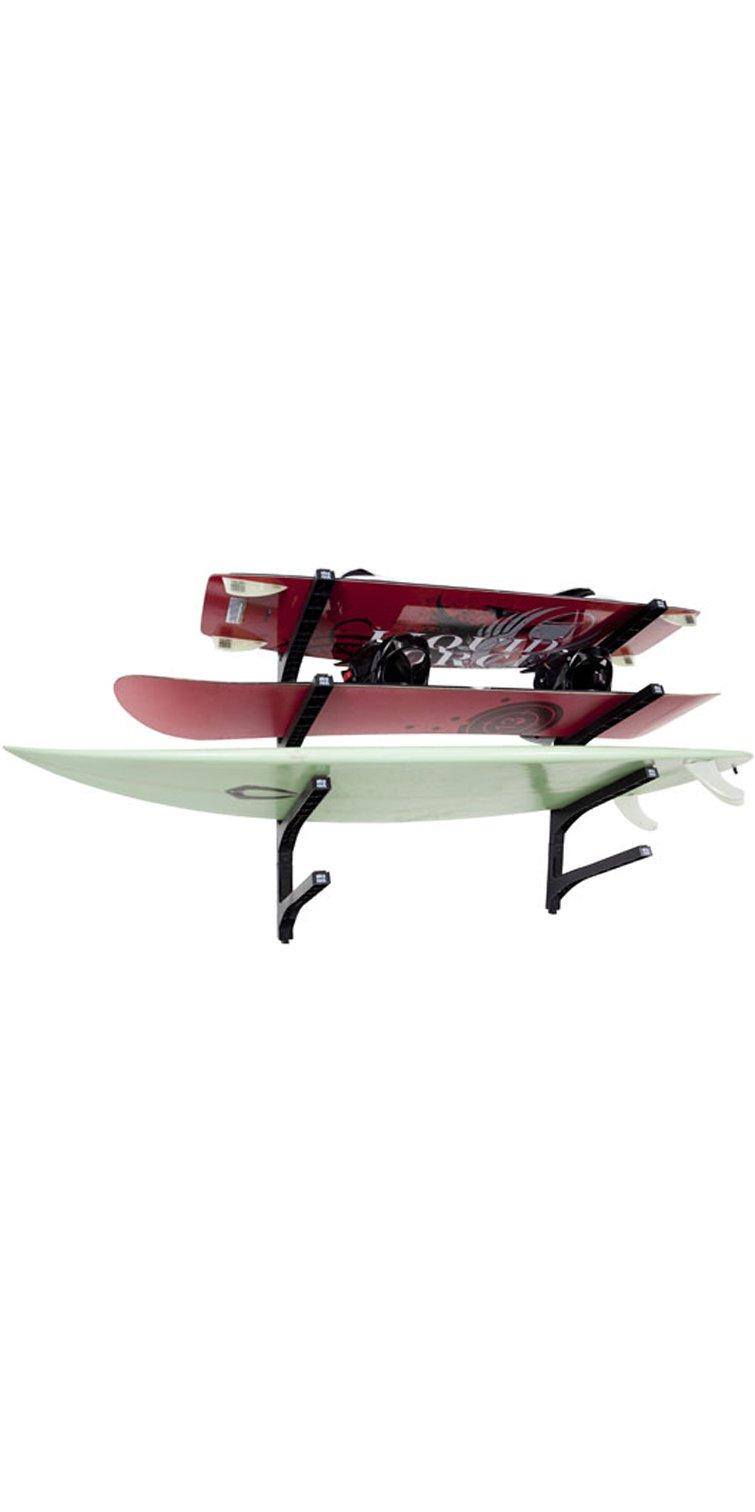Nice Rack Quad Surfboard Wall Rack - (Four Boards) by Nice Rack
