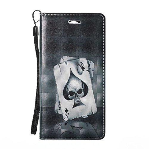 COWX LG K8 (2017) Hülle Kunstleder Tasche Flip im Bookstyle Klapphülle mit Weiche Silikon Handyhalter PU Lederhülle für LG K8 (2017) Tasche Brieftasche Schutzhülle für LG K8 (2017) schutzhülle imn9NhpO