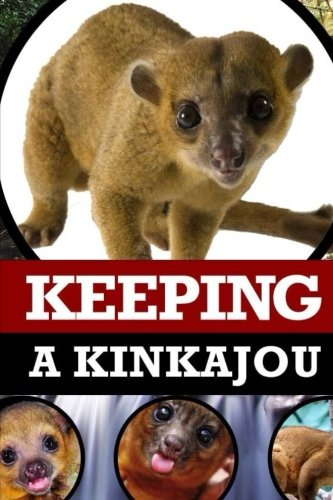 Keeping A Kinkajou: A Complete Owner's Guide To Caring For Pet Kinkajous (Honey Bears or Potos Flavus)