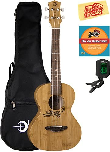 Luna Bamboo Ukulele Instructional Polishing product image