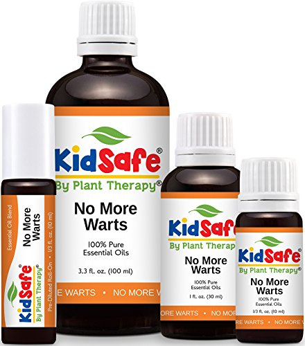 Plant Therapy KidSafe No More Warts Synergy Essential Oil 100% Pure, Therapeutic Grade