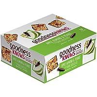 12-Pk. GoodnessKnows Apple Almond & Peanut Dark Chocolate