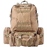 Partiss PU Leather Travel Duffel Weekend Bag
