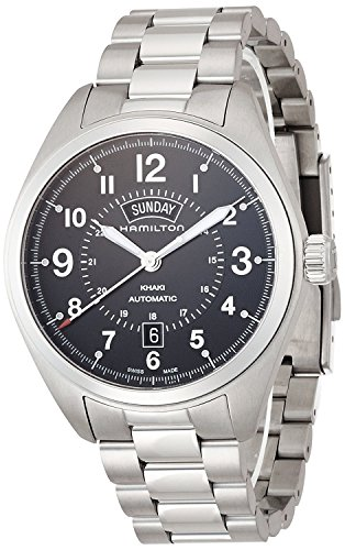 HAMILTON watch Khaki Field Day Date H70505133 Men's [regular imported goods]