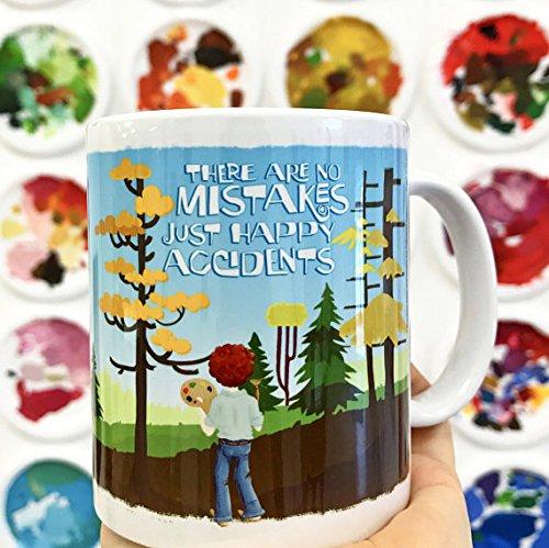 Bob Ross Mug - Happy Accidents