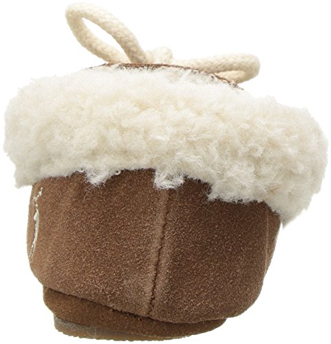 Tan Slipper Allister Polo Ralph Microsuede Kids Lauren Light Girls' xwH0OU4x