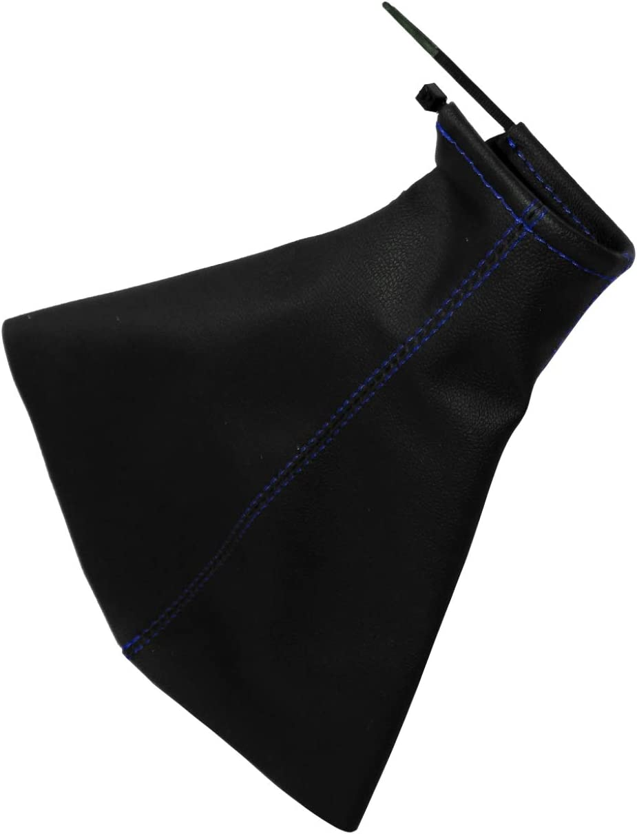 Aerzetix Gear Stick Gaiter with Stitching//Topstitching in Imitation Leather Variable Colours