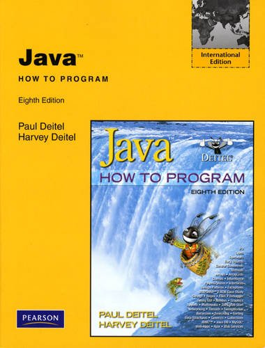 [PDF] Java: How to Program, 8th International Edition Free Download | Publisher : Pearson Education | Category : Computers & Internet | ISBN 10 : 0131364839 | ISBN 13 : 9780131364837