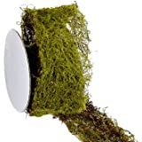 Silk Plants Direct Moss Sheet Ribbon (Pack of 24)