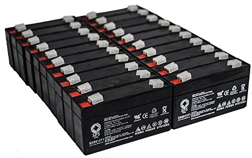 Acme Medical 5000 Scale - SPS Brand 6V 1.3Ah Replacement Battery for Acme Medical 5000 Scale (20 Pack)