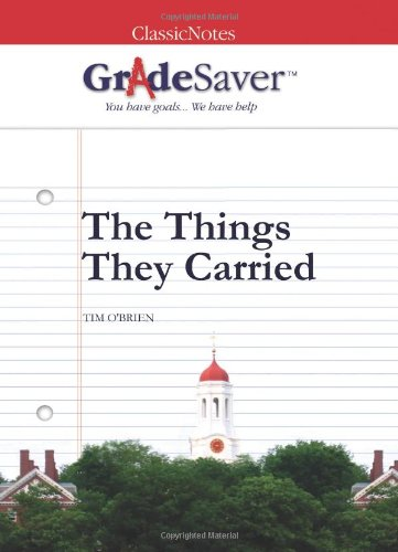 the things they carried 9 essay Free essay: difference between sweetheart of the song tra bong & a  the  things they carried & a soldiers sweetheart essay  2220 words | 9 pages.