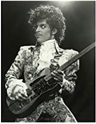 Prince on Stage Singing and Dancing Looking Glam 8 x 10 inch photo