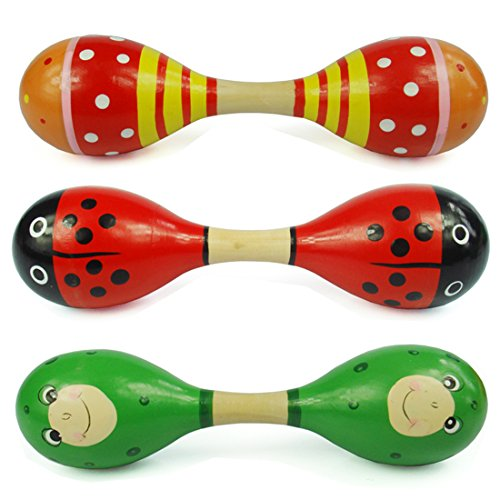smatter-two-heads-wooden-maracas-egg-shaker-percussion-rattle-toy-for-kid-random-color