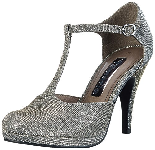 Femme Glam 970 Argent 24429 Platinum Escarpins Tamaris UwqB8Zw