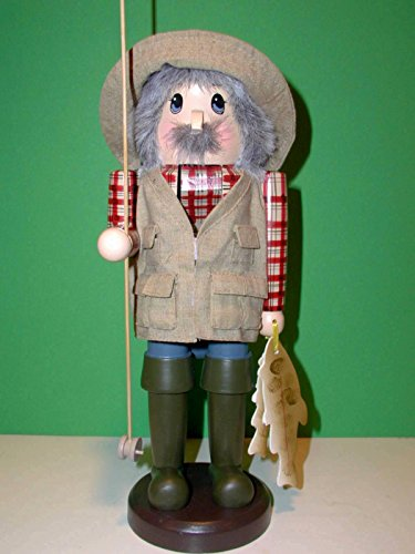 Retired Zims Heirloom Collectibles 10 Quot Fisherman