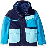 Marmot Boys Space Walk Jacket, Arctic Navy/Bahama Blue, X-Small