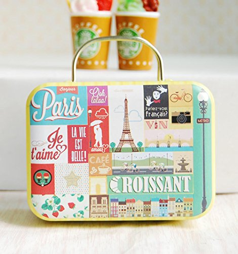 1/6 Barbie Blythe Size Tower Doll Dollhouse Miniature Toy Trunk Box Suitcase Luggage Traveling (Mini Blythe Doll)