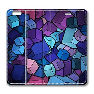 Abstract Blue Cube Stack Smart Cover Case for iPad Air
