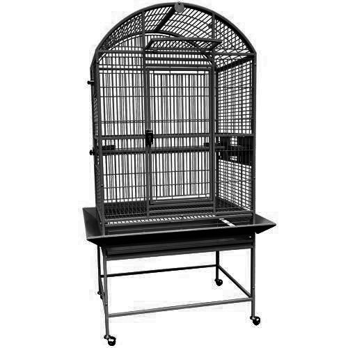 King's Cages 9003223 Parrot Bird Dome Top Parrot Bird Cage With New Lock toy toys (Hq Cage Dome Top)
