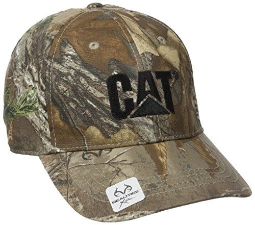 Caterpillar Men's Trademark Cap, Realtree One Size