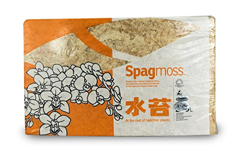 New Zealand Long Fiber Sphagnum Moss (3kg 240L) by AWS