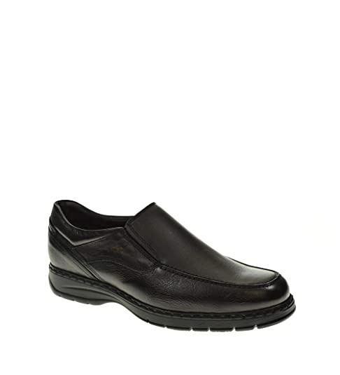Fluchos Crono mocasín F9144 HOMBRE-NEGRO: Amazon.es: Zapatos y complementos