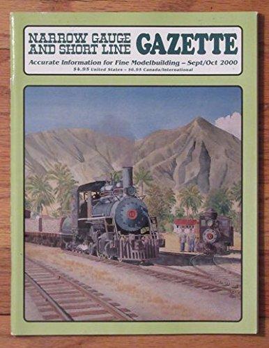 Caboose Rio Grande - NARROW GAUGE AND SHORT LINE GAZETTE 9-10/2000 [Denver & Rio Grande Western Caboose]